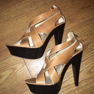 MICHAEL Michael Kors strappy platform heel sandal